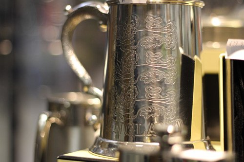 engraved metal cup superior engraving services northampton